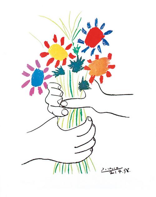 Blumen Picasso