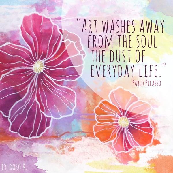 Zitat Picasso