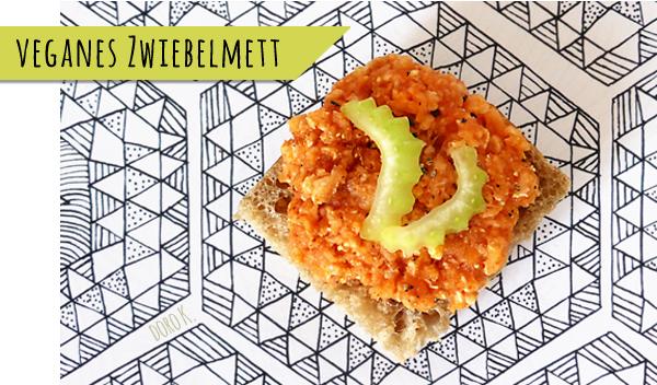 Veganes Zwiebelmett á la Veganista | www.dorokaiser.online.de