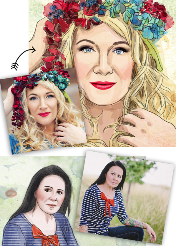 Porträt Frauen