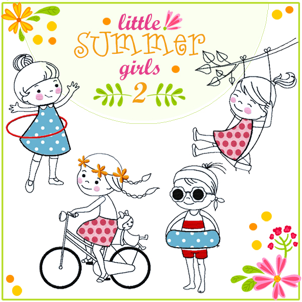 """Little Summer Girls 2"""