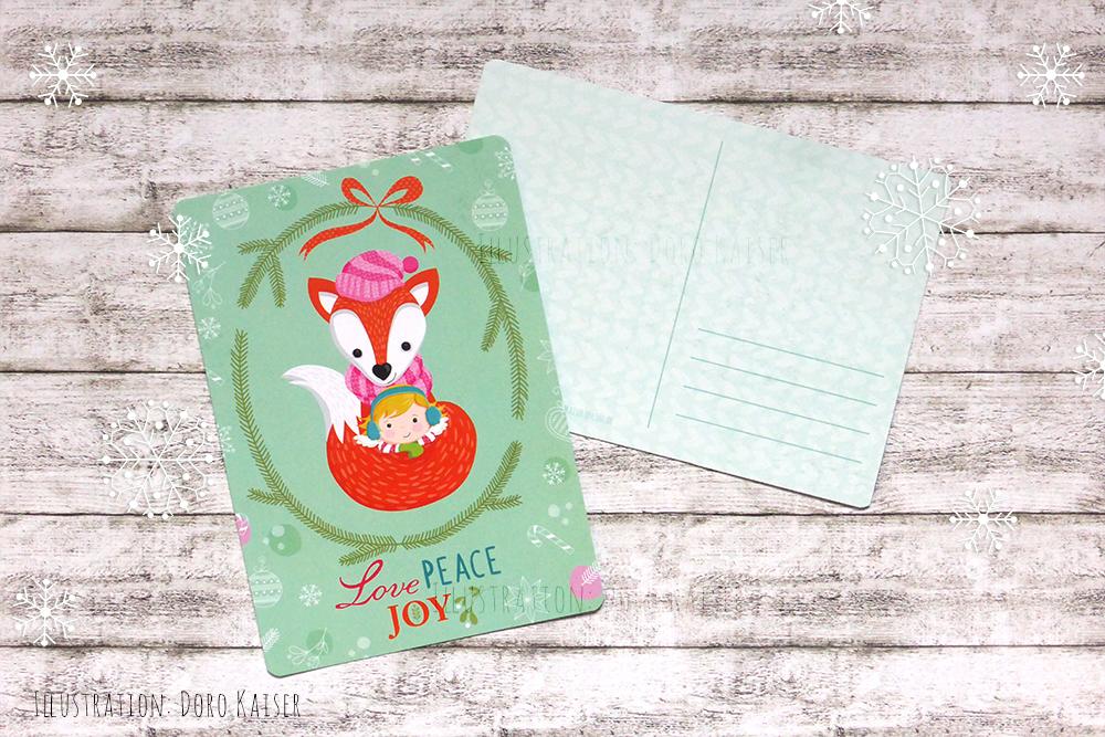 Neue weihnachtskarten f r euch doro kaiser grafik - Weihnachtskarten online versenden ...