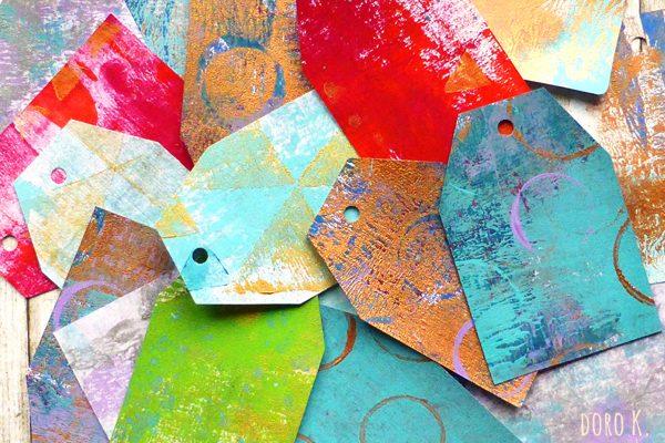 Unikate: Geschenkanhänger Set | www.dorokaiser.online.de
