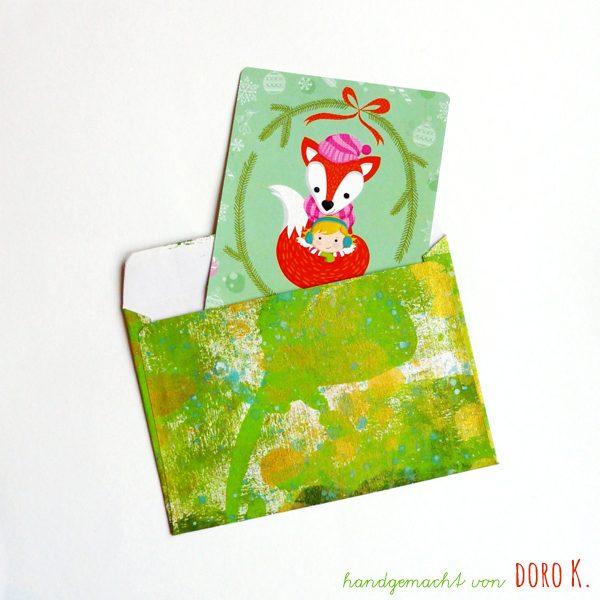 Bedruckte Umschläge von doro K. | www.dorokaiser.online.de