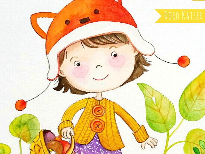 Illustration Mädchen