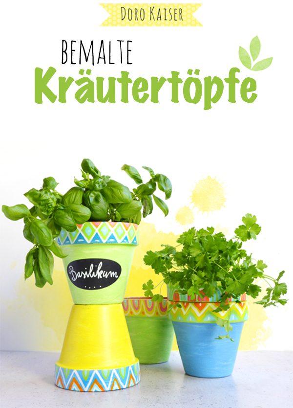 DIY Kräutertopf