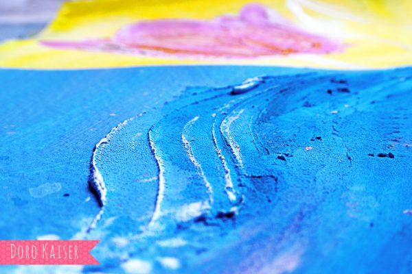 Acrylfarben Strukturpaste