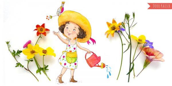 Illustration für Kinder
